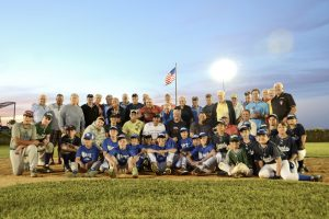 The Senior & The New Point Lookout Little League All-Stars aug 29 2014